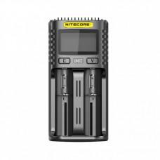 Nitecore UM2 Batteriladdare, Intelligent USB-snabbladdare
