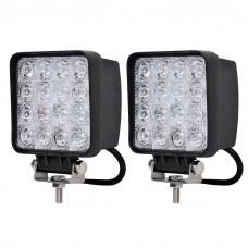 2-Pack 48W LED Arbetsbelysning  9-30V