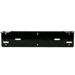 Nummerskyltsfäste universal för LED ramp / två extraljus-45cm